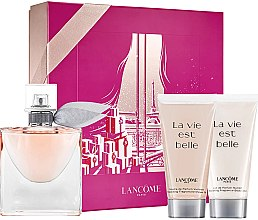 Parfumuri și produse cosmetice Lancome La Vie Est Belle - Set (edp/50ml + sh/gel/50ml + b/lot/50ml)