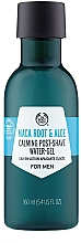 "Parfumuri și produse cosmetice Gel după ras ""Rădăcină Maca și Aloe"" - The Body Shop Maca Root & Aloe Post-Shave Water-Gel For Men"