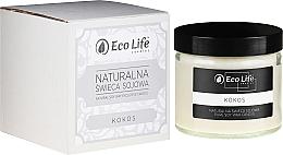 """Parfumuri și produse cosmetice Lumânare parfumată """"Cocos"""" - Eco Life Candles"""