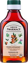 Parfumuri și produse cosmetice Ulei cu extract de brusture și argan pentru păr - Green Pharmacy