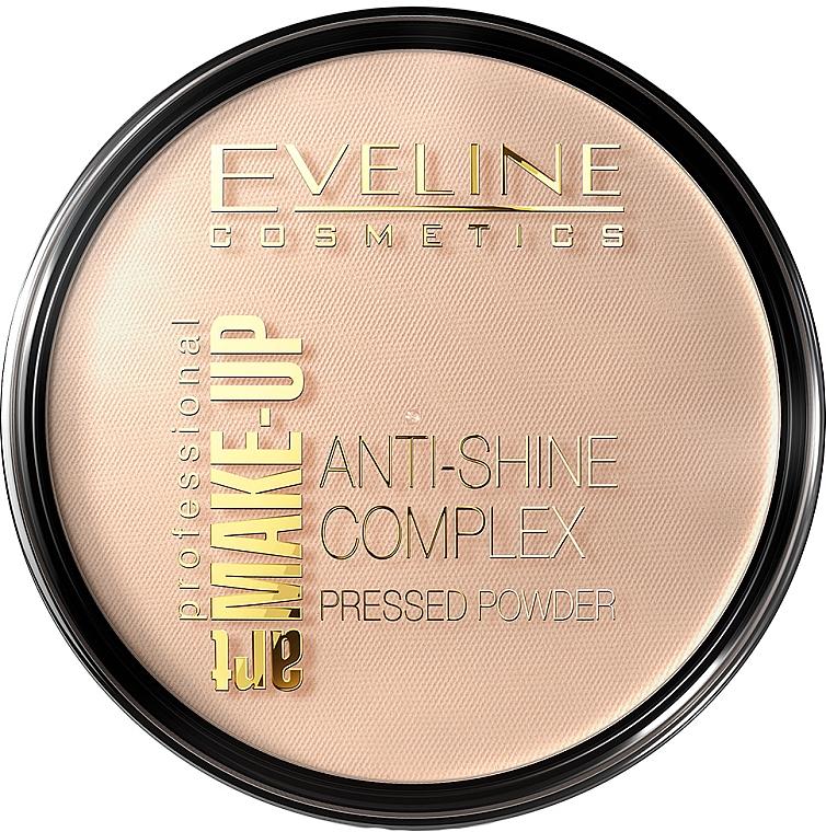 Pudră compactă - Eveline Cosmetics Anti-Shine Complex