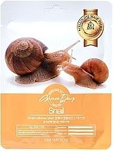 Parfumuri și produse cosmetice Mască din țesătură pentru față cu mucină de melc - Grace Day Traditional Oriental Mask Sheet Snail
