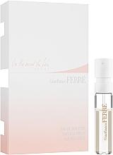 Parfumuri și produse cosmetice Gianfranco Ferre In The Mood For Love Pure - Apă de toaletă (mostră)