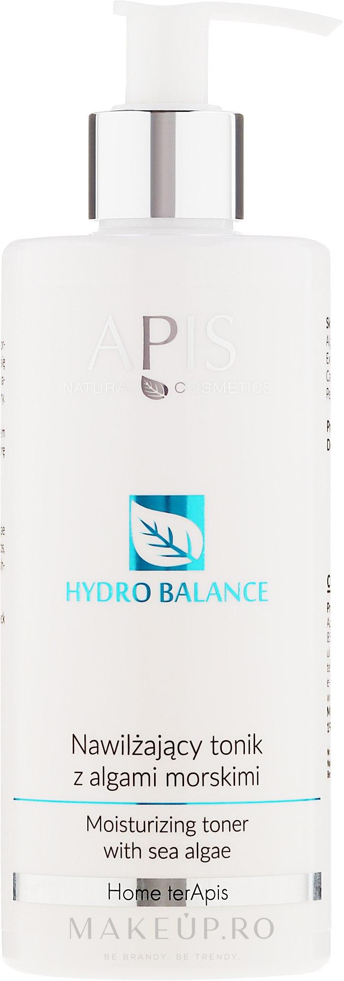 Tonic pentru față - APIS Professional Hydro Balance Moisturizing Toner — Imagine 300 ml