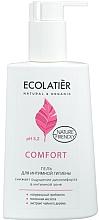 Parfumuri și produse cosmetice Gel cu acid lactic și probiotic pentru igiena intimă - Ecolatier Comfort