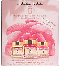 Parfumuri și produse cosmetice Set - La Sultane de Saba Rose (f/balm/50ml + f/cr/50ml + f/mask/50ml)