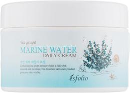 Parfumuri și produse cosmetice Cremă facială cu extract de struguri de mare - Esfolio Marin Water Daily Cream