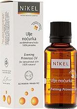 Parfumuri și produse cosmetice Ulei de primroză de primăvară pentru față - Nikel Evening Primrose Oil