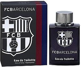 Parfumuri și produse cosmetice Air-Val International FC Barcelona Black - Apă de toaletă