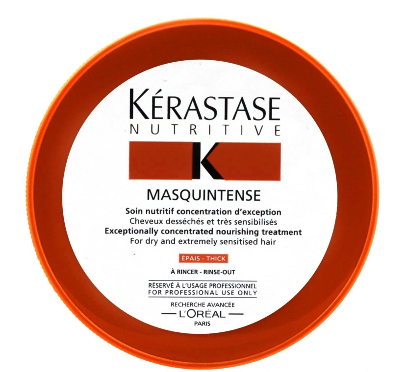 Mască intensivă pentru părul gros, uscat și deteriorat - Kerastase Masquintense Irisome Nutritive — Imagine N1