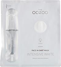 Parfumuri și produse cosmetice Mască de față - The Oozoo Face In-Shot Mask Intensive White