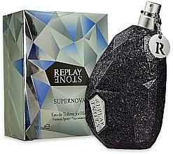 Parfumuri și produse cosmetice Replay Stone Supernova for Him - Apă de toaletă