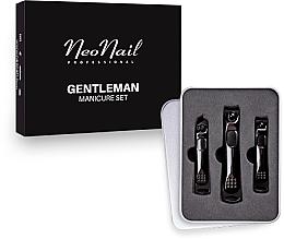 Parfumuri și produse cosmetice Set manichiură pentru bărbați - NeoNail Professional Gentleman Manicure Set