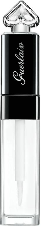 Luciu de buze - Guerlain La Petite Robe Noire Lip & Shine Base Hydratante & Top Coat Brillant — Imagine N1
