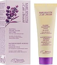 """Parfumuri și produse cosmetice Fluid matifiant prentru față """"Îngrijire zilnică"""" pentru piele grasă și problematică - Le Cafe de Beaute Matting Fluid"""