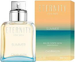 Parfumuri și produse cosmetice Calvin Klein Eternity Summer For Men 2019 - Apă de toaletă