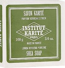 Săpun - Institut Karite Lemon Verbena Shea Soap — Imagine N1