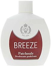 Parfumuri și produse cosmetice Breeze Squezee Deodorante Patchouly - Deodorant pentru corp