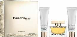 Parfumuri și produse cosmetice Dolce & Gabbana The One - Set (edp/75ml + b/l/50ml + sh/g/50ml)