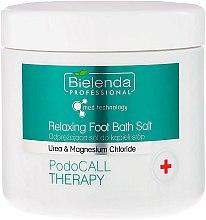Parfumuri și produse cosmetice Sare de baie pentru picioare - Bielenda PodoCall Therapy Relaxing Foot Bath Salt