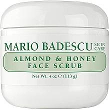 Parfumuri și produse cosmetice Scrub facial non-abraziv - Mario Badescu Almond & Honey Non Abrasive Face Scrub