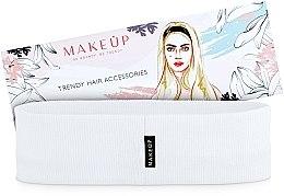 """Parfumuri și produse cosmetice Bandă elastică pentru păr """"Be Beauty"""", albă - MakeUp"""