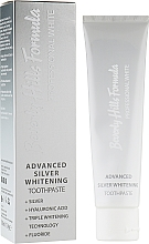 Parfumuri și produse cosmetice Pastă de dinți - Beverly Hills Formula Professional White Advanced Silver Whitening
