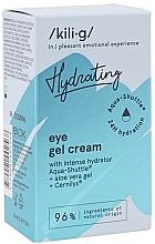 Parfumuri și produse cosmetice Gel hidratant pentru zona ochilor - Kili-g Hydrating Eye Gel Cream