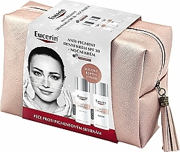 Parfumuri și produse cosmetice Set - Eucerin Anti-pigment (d/cr/50ml + n/cr/50ml + bag)