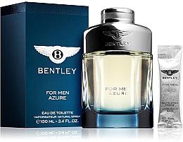Parfumuri și produse cosmetice Bentley Bentley For Men Azure - Set (edt/100ml + afsh/balm/5ml)