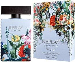 Parfumuri și produse cosmetice Replay Signature Secret - Apă de toaletă
