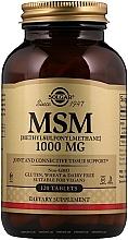 "Parfumuri și produse cosmetice Supliment alimentar ""Metilsulfonilmetan"" 1000 mg - Solgar MSM (Metilsulfonilmetan)"