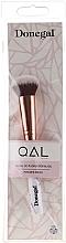 Parfumuri și produse cosmetice Pensulă pentru pudră și fond de ten, 4089 - Donegal QAL