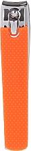 Parfumuri și produse cosmetice Unghieră 76954, L, portocalie - Top Choice Colours Nail Clippers
