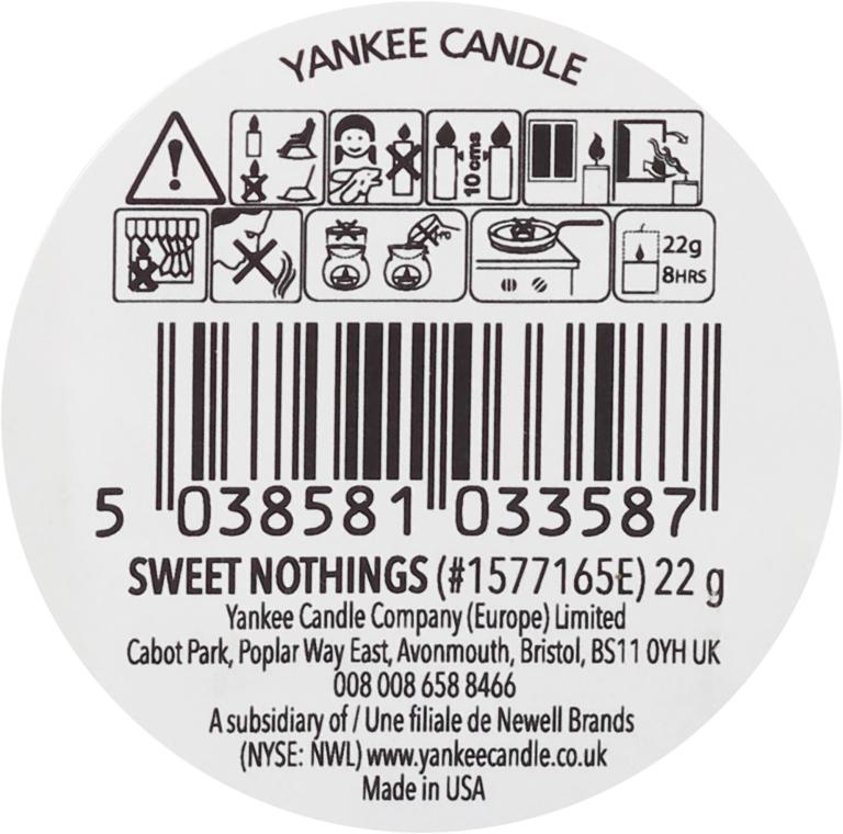 Ceară aromată - Yankee Candle Sweet Nothings Tarts Wax Melts — Imagine N2