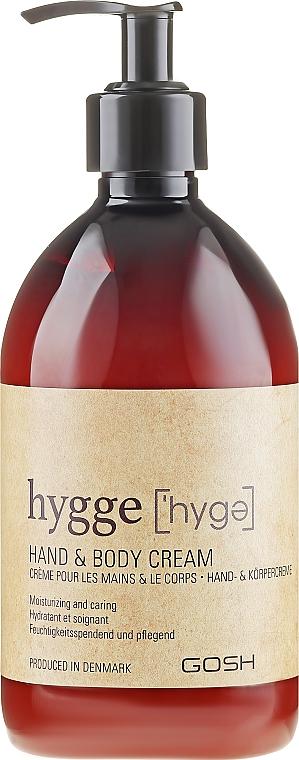 Cremă pentru corp - Gosh Hygge Hand and Body Cream