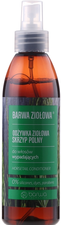 Balsam cu extract de coada-calului împotriva căderii părului - Barwa Herbal Horsetail Conditioner