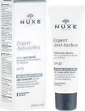 Parfumuri și produse cosmetice Cremă împotriva pigmentării pentru față - Nuxe Expert Anti-Taches Anti-Dark Spot Cream SPF20