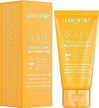 Parfumuri și produse cosmetice Cremă impermeabilă cu protecție solară pentru față - La Biosthetique Soleil Multi-Protection Solar Cream SPF 50+