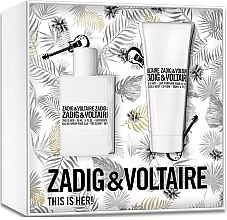 Parfumuri și produse cosmetice Zadig & Voltaire This is Her - Set (edp/50ml+b/lot/100ml)