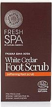 Parfumuri și produse cosmetice Scrub pentru picioare - Natura Siberica Fresh Spa Russkaja Bania Detox White Cedar Foot Scrub