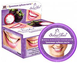 Parfumuri și produse cosmetice Pastă cu extract de Mangosteen pentru dinți - Sabai Thai Herbal Mangosteen Toothpaste
