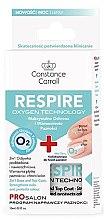 Parfumuri și produse cosmetice Bază și strat fixator pentru unghii 2în1 - Constance Carroll Nail Care Respire Oxygen Technology