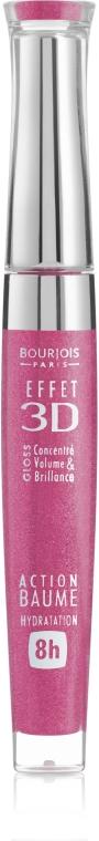 Luciu cu efect de balsam pentru buze - Bourjois Effet 3D Balm Action 8h