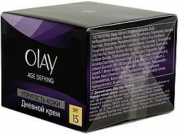 """Parfumuri și produse cosmetice Cremă de zi """"Elasticitatea pielii"""" - Olay Age Defying Day Cream"""