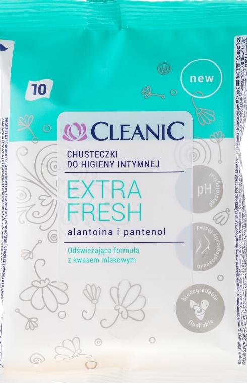 Șervetele umede pentru igiena intimă, 10 buc - Cleanic Intensive Care Wipes