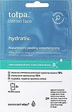 Parfumuri și produse cosmetice Masca-peeling de față - Tolpa Dermo Face Hydrativ Moisturizing Mask-Peeling Removes