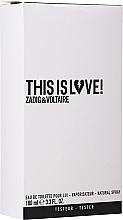Parfumuri și produse cosmetice Zadig & Voltaire This is Love! for Him - Apă de toaletă (tester cu capac)