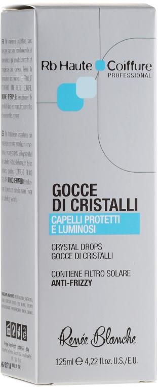 Ser pentru părul deteriorat - Renee Blanche Haute Coiffure Gocce di Cristalli Serum — Imagine N2