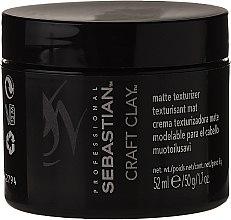 Parfumuri și produse cosmetice Argilă pentru modelarea părului cu efect mat - Sebastian Professional Form Craft Clay Remoldable-Matte